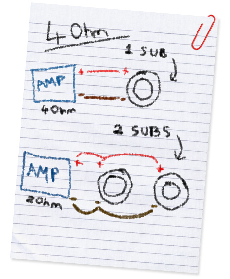 4ohm subwoofer wiring guide audio repair centre 4 ohm dual voice coil subwoofer wiring diagram at soozxer.org